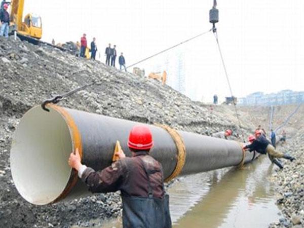 自来水输送管道工程